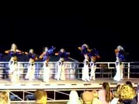 Denver Broncos Cheerleaders PMRF, Kauai