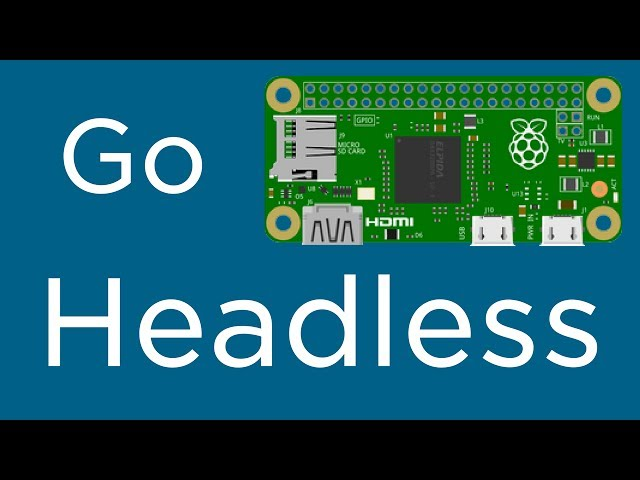 How To Setup Raspberry Pi Zero W Headless WiFi - Tutorial