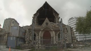 Public get closest l๐ok at Christ Church Cathedral since earthquakes