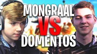 Secret Mongraal 1 VS 1 Secret Domentos | Fortnite Creative 1v1 *BEST PLAYER UK*