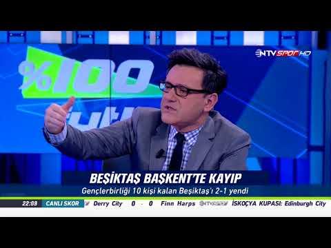 % 100 Futbol Gençlerbirliği - Beşiktaş 13 Ekim 2017