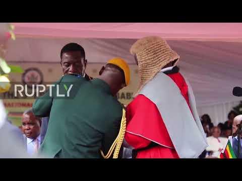 Mnangagwa sworn in as new president of Zimbabwe