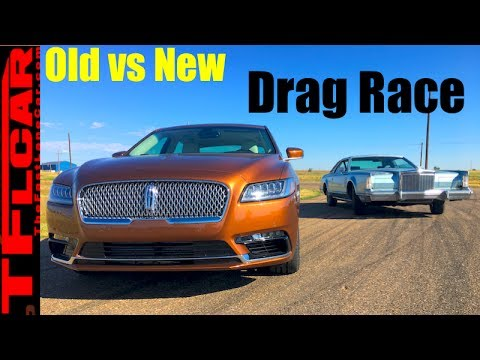 Old vs New: Which Lincoln Continental is Faster in a Drag Race?