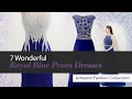 7 Wonderful Royal Blue Prom Dresses Amazon Fashion Collection