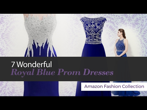7 Wonderful Royal Blue Prom Dresses Amazon Fashion Collection