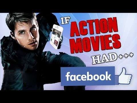IF ACTION MOVIES HAD FACEBOOK