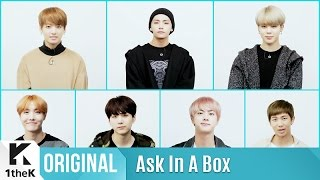 ASK IN A BOX: BTS 'Blood Sweat & Tears'