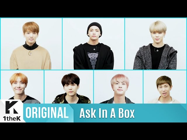 ASK IN A BOX - BTS