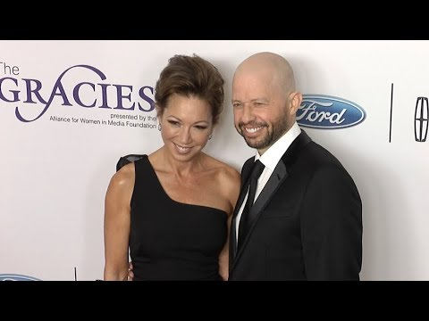 Jon Cryer, Lisa Joyner at 43rd Annual Gracie Awards Red carpet in Los Angeles