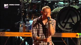 Скачать Linkin Park Somewhere I Belong MTV World Stage HD Monterrey 2012