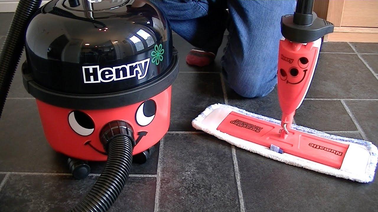 Numatic Hm40 Henry Spray Mop Unboxing Assembly Amp Demon