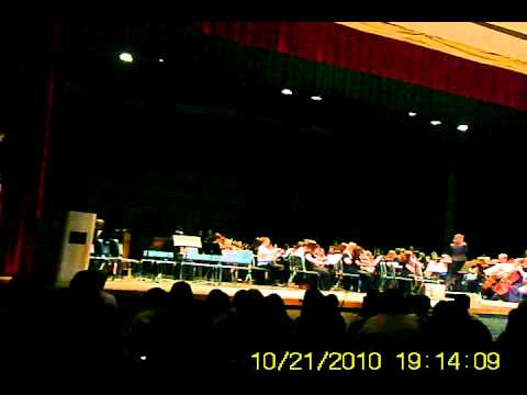 Burns Middle School Orchestra 7th grade Adam's Family Theme