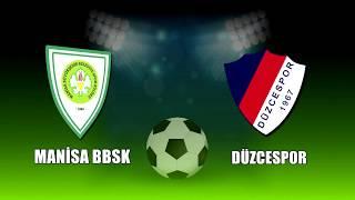 Manisa BBSK Futbol - Düzcespor