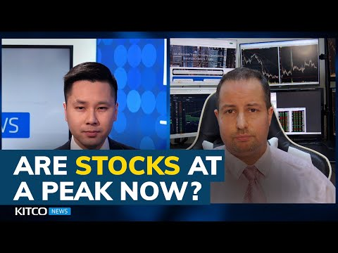 Stock markets are about to peak warns Gareth Soloway; how large is next correction?