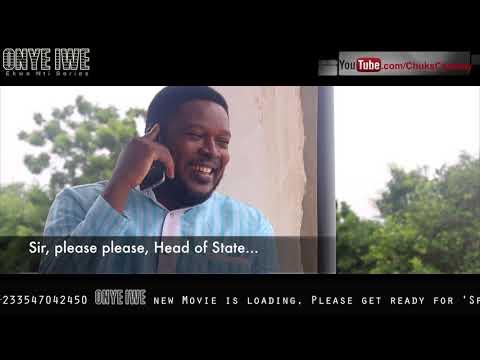 Onye Iwe calls President Buhari