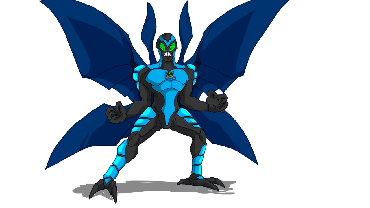 Speed Drawing Ben 10 Big Chill