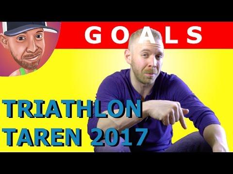 Triathlon Taren 2017 Goals: Half Ironman Training, YouTube ...
