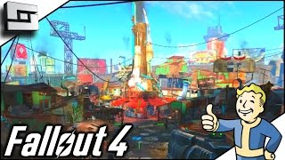 Fallout 4 Gameplay - DIAMOND CITY! Ep 11