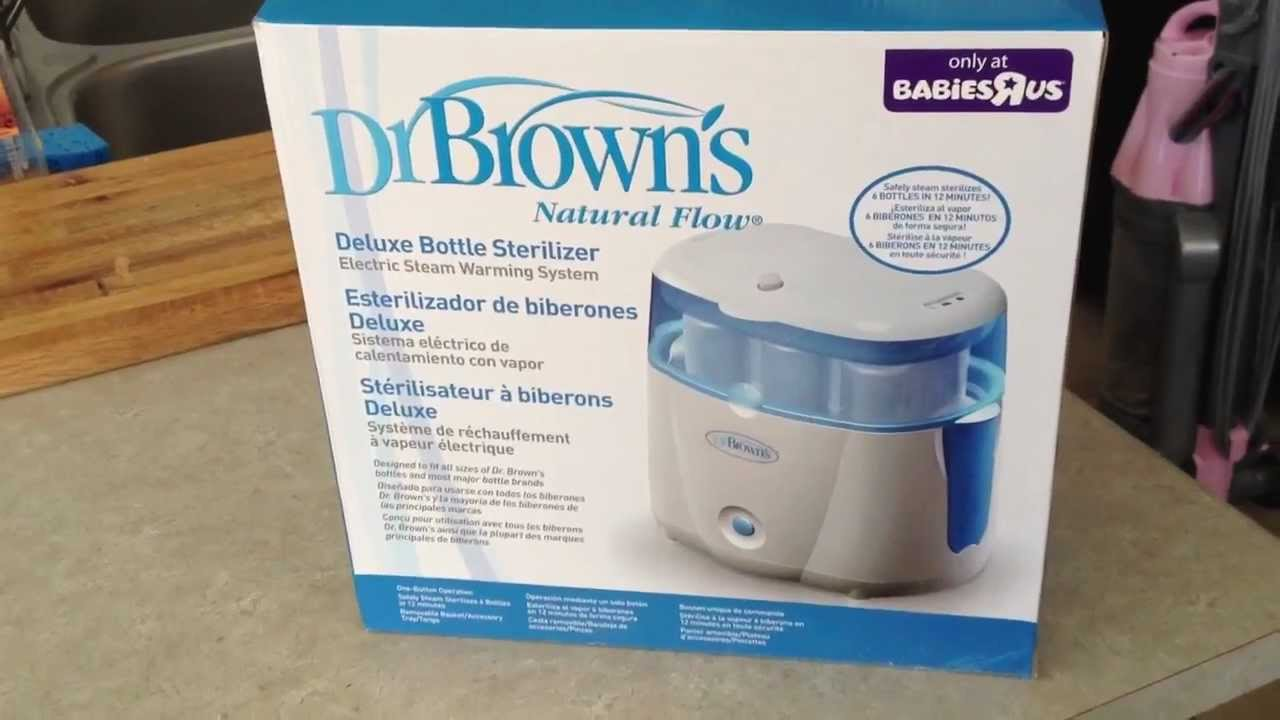Unboxing Dr Browns Bottle Sterilizer Youtube