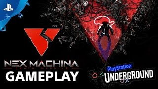 Nex Machina Gameplay | PlayStation Underground