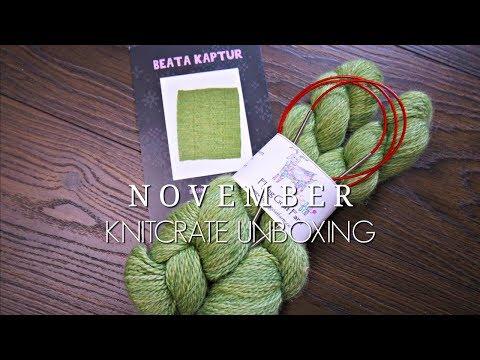 November KnitCrate Unboxing | Megan Brightwood