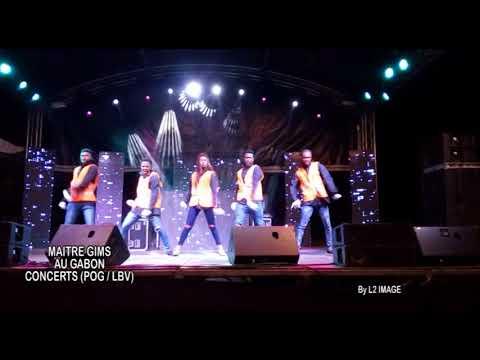 Concert de Maître Gims Au Gabon - Le  Show des Artistes Gabonais