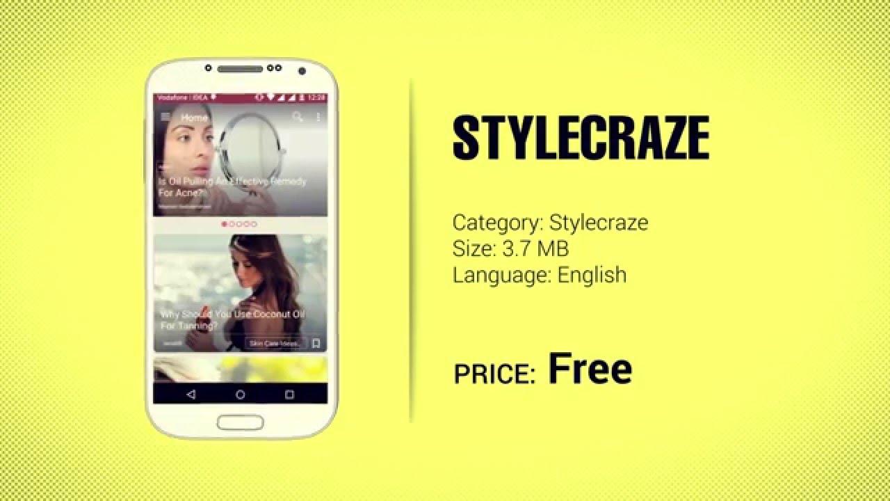 Stylecraze App - Stay Updated On The Latest Makeup & Beauty Tips