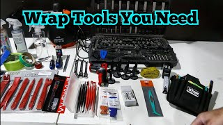 Vinyl Wrap Tools You Need & What's In My Tool Pouch?