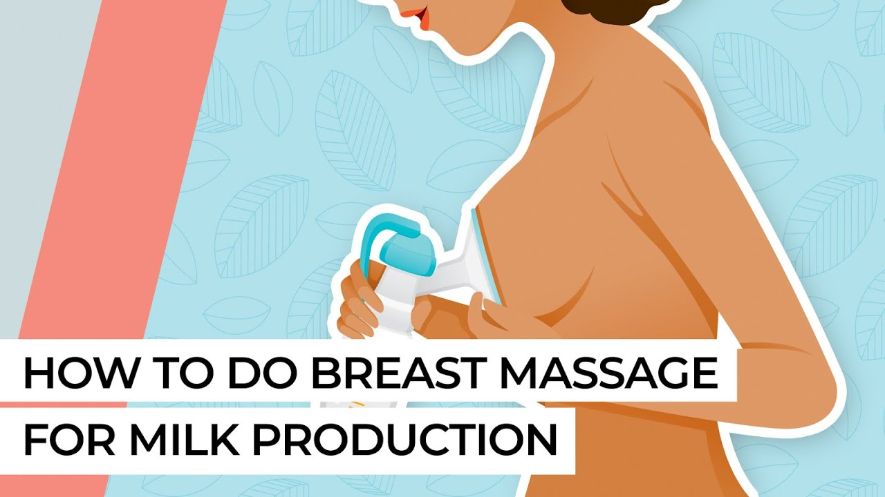 Download How to do breast massage for milk production