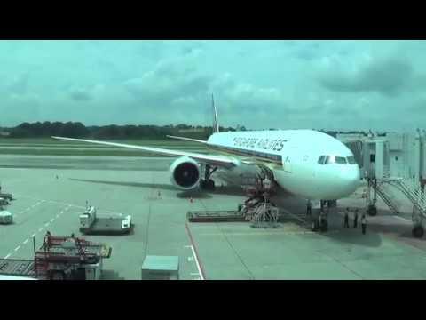Japan Trip 2k16(2) Part 1:Singapore Airlines SQ634-Singapore Changi to Tokyo Haneda-Boeing 777-300ER