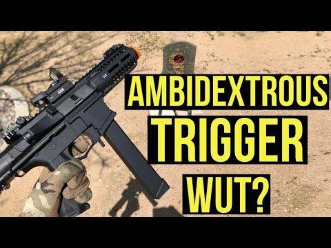 Ambidextrous Trigger, Wut? | Straight Outta the Box G&G Armament ARP9 AEG