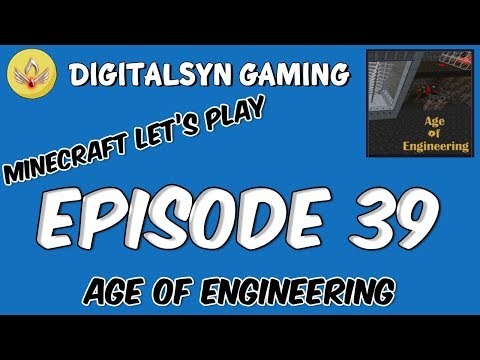 Age of Engineering Episode 39 - Arc Furnace, more automation and a Farm