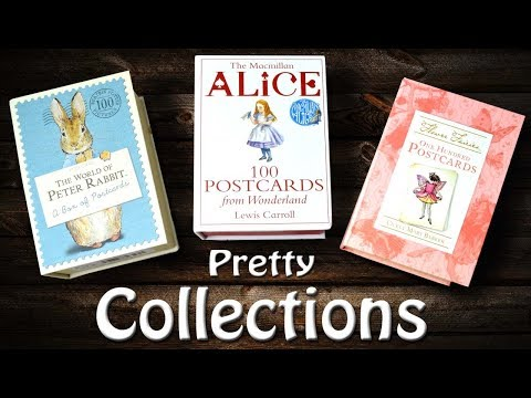 Collecting Fancy Postcards  - My New Obsession | Flower Fairies | Peter Rabbit | Alice In Wonderland
