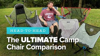 The BEST CAMPING CHAIR in 2020? An HONEST Comparison + GIVEAWAY!