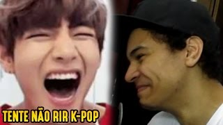 Video TRY NOT TO LAUGH: K-POP (Monsta X, BTS, AOA and more) download MP3, 3GP, MP4, WEBM, AVI, FLV Maret 2018
