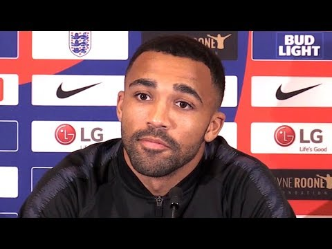 Callum Wilson Embargoed Press Conference - On First England Call-Up
