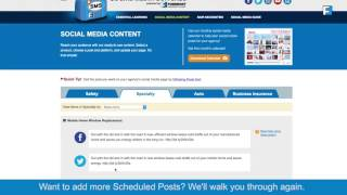 Social Media Suitcase website