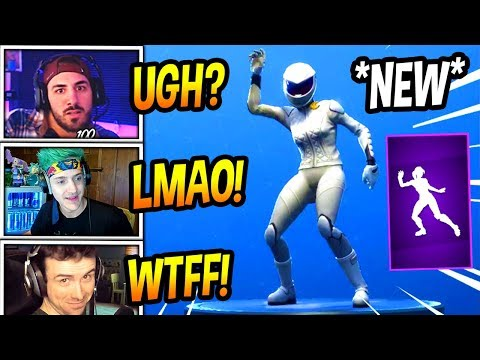 """STREAMERS REACT TO *NEW* """"VIVACIOUS"""" EMOTE/DANCE! *EPIC* Fortnite FUNNY & SAVAGE Moments"""