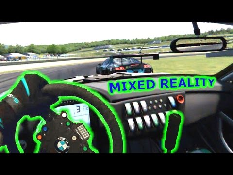 ⏱ Mixed Reality - Assetto Corsa GT3 Qualify - Oculus Rift DK2