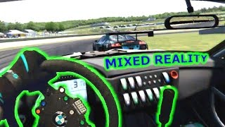 ⏱ Mixed Reality - Assetto Corsa GT3 Qualify - Oculus Rift DK2