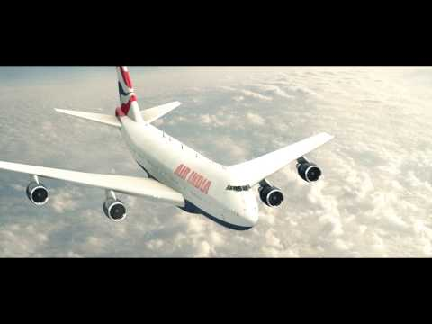 Air India Flight Animation - True Motion Entertainment