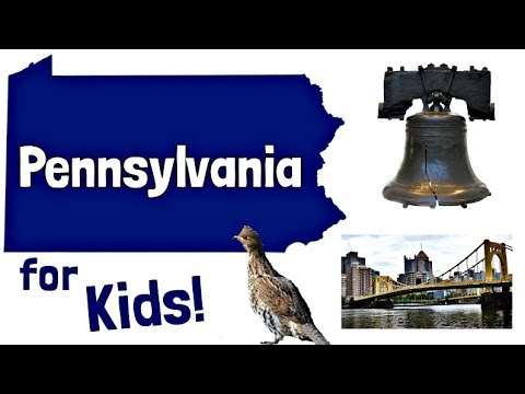 Pennsylvania for Kids | US States Learning Video