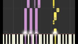 Black Mirror Soundtrack: Anyone who knows what love is (Piano sheet & Synthesia)