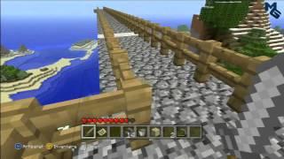 Partie en ligne en Live sur Minecraft Edition Xbox 360 - En compagnie de BlaZe et GhosT [HD]