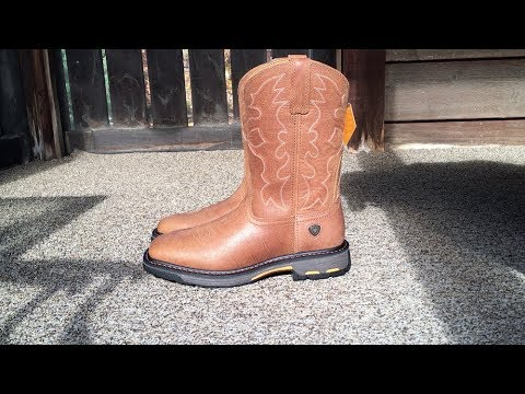 Ariat Workhog Wide Square Toe ST Men/'s Boot