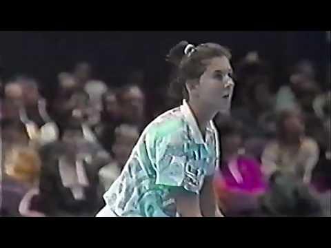 Monica Seles Vs Jana Novotna 1992 YEC QF Highlights