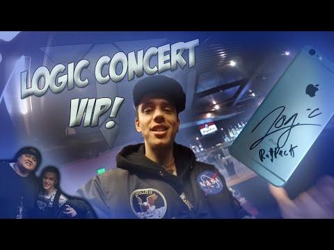 Meeting Logic & concert VIP #TheUnderPressureTour - Amsterdam