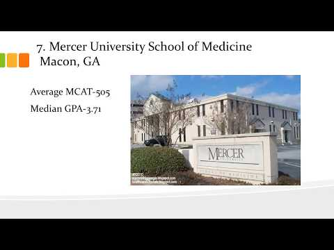 Top 10 Medical School With Lowest Average Mcat Score