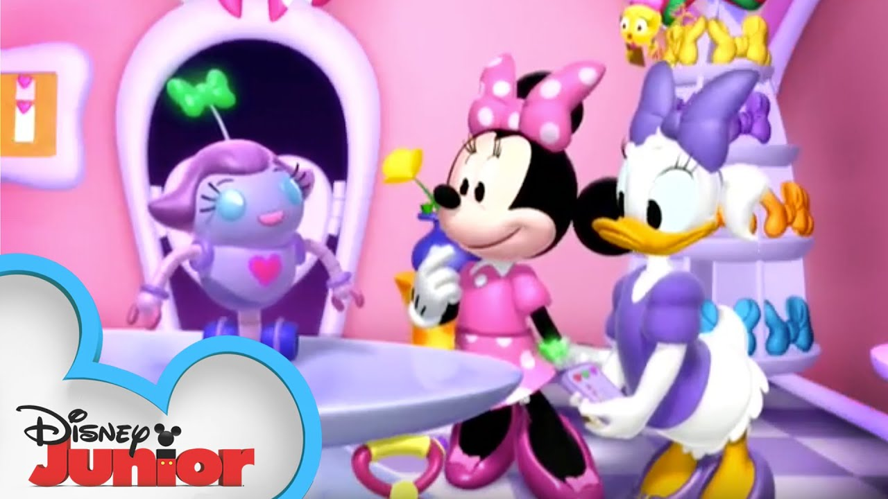 Bow Bot Minnie S Bow Toons Disney Junior Youtube