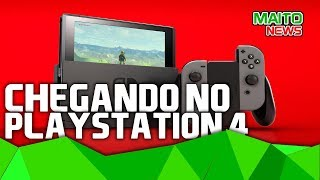NINTENDO SWITCH alcançando PS4 no Japão e cidades de RED DEAD REDEMPTION 2